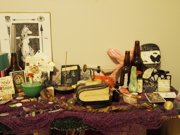 altar to my holy selves